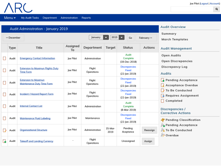 Support ongoing operational improvements through custom monthly audit tasks.