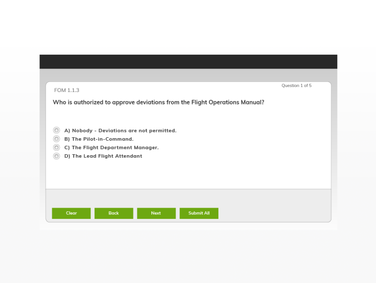 Test your department's knowledge on operations and procedures with custom…