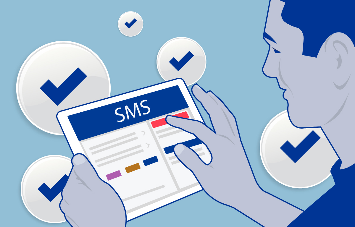 Why SMS is not a lot of work