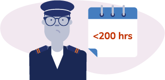 7. First Officer With Less Than 200 Flight Hours in A/C Type