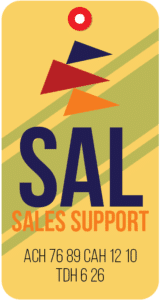 Sales Support Tag for Aviation Companies